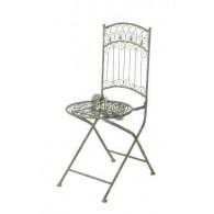 stoel bozen grijs bruin 52x39x92,5cm (week 32 leverbaar)