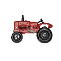 flessen opener tractor rood gietijzer