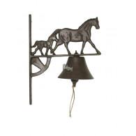 deurbel paard gietijzer