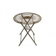 tafel roest kleur D70xH74cm