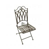 stoel donker bruin 40x51xH93,5cm