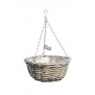 hanging basket rotan rond 30 cm