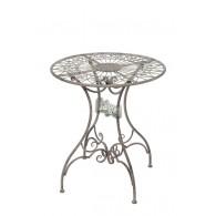 tafel grijs  D70xH78cm