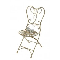 stoel grijs 45x55xH96cm