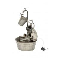 waterbron gieters emmer en teil met pomp hoog 72 cm (week 25 weer leverbaar)