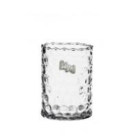vaas glas cilinder golf  hoog 20 cm