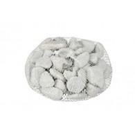 decoratie stenen 2-3cm net 1kg licht grijs