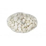 decoratie stenen 8-12mm net 1kg wit