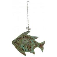 hanger vis metaal breed 47 cm op=op