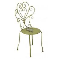 stoel groen 50x45xH95cm