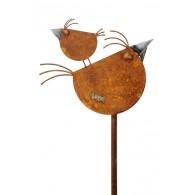 steker 2 vogels hoog 118 cm