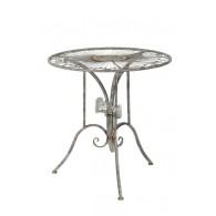 tafel grijs bruin D69xH72cm