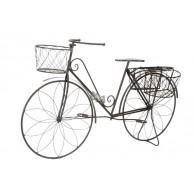 bloembak fiets donker bruin hoog 81 cm