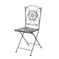 stoel grijs 37x53xH89cm