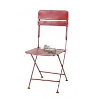 stoel rood 40x46xH90,5cm