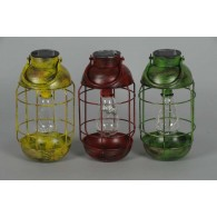 hang lamp led met solar 3 assortiment kleur