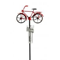 regenmeter fiets heren metaal op=op