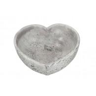 schaal cement hart diameter 24 cm
