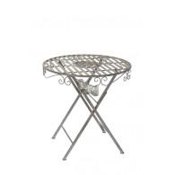 tafel grijs D70xH71cm