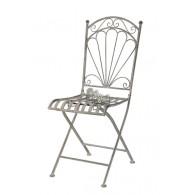 stoel grijs 49x40xH95,5cm