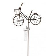 regenmeter fiets dames groot metaal
