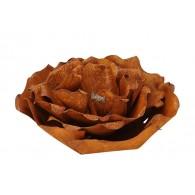 roos doorsnee 35 cm roest