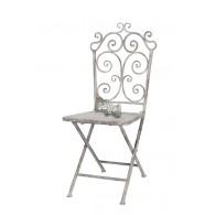 stoel grijs 41x50,5xH97cm