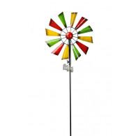 windmolen enkel bont metaal diameter 32.5 cm