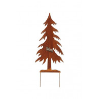 steker dennenboom roest hoog 78 cm
