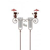 regenmeter kikker en paraplu 2 assortiment design