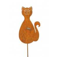 steker kat roest hoog 28.5 cm