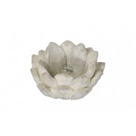 bloem cement 20 cm doorsnee crème
