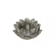 bloem cement 20 cm doorsnee zilver grijs