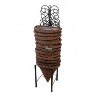 wand hangmand metaal hoog 65cm