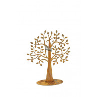levensboom op plaat roest hoog 40 cm (leverbaar vanaf week 20)