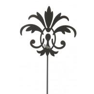 steker lelie hoog 209 cm zwart