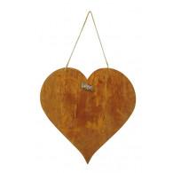 hanger hart 35x55 cm roest