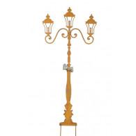 steker lantaarn hoog 118 cm roest