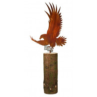 adelaar metaal hoog 50 cm inslag (zonder boomstam)