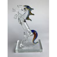 glasfiguur paard 13 cm
