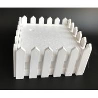 display wit voor kleine stekers 18x18 cm