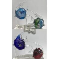 glasfiguur vis 4 assortiment kleur