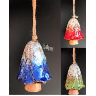 windklok paddenstoelen hangend 3 assortiment kleur hoog 11 cm