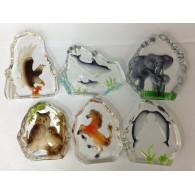 glasfiguur dieren 6 assortiment design