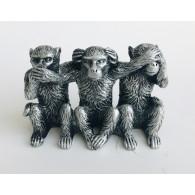 aap horen zien en zwijgen 10 cm