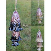 windklok paddenstoelen hangend 3 assortiment kleur hoog 25 cm sp
