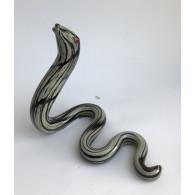 glasfiguur slang 16x17 cm