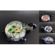 glasfiguur schildpad 9 cm 4 assortiment design