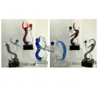 glasfiguur lovers 11 cm 6 assortiment design
