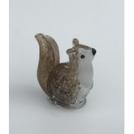 glasfiguur eekhoorn 10 cm
